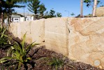 Sandstone Rock Wall Brisbane